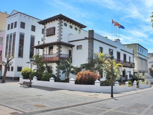 Rathaus von Los Llanos: Die Politiker setzen seit Neuestem auf mehr Bürgerbeteiligung.