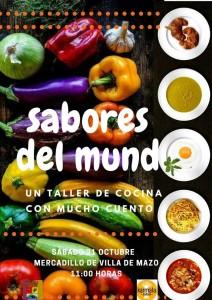 Geschmackserlebnisse aus der ganzen Welt: kulinarische Reihe in Mazo.