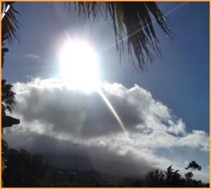 Wetter auf La Palma: Im Herbst und Winter windet und regnet es schon mal - aber schnell zeigt sich immer wieder die Sonne. Foto: La Palma 24