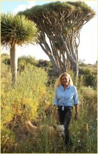 Susanne Aernecke: lebt einen Teil des Jahres im Nordwesten von La Palma