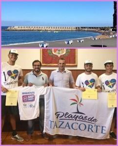 Tazacortes Tourismusrat ist stolz auf die Life-Guards: Sommerbadesaison ohne schlimme Meldungen. Foto: Tazacorte