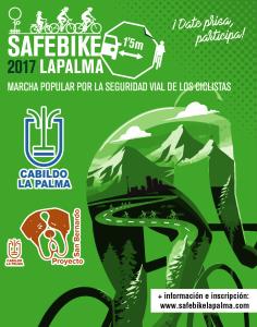 Safe Bike La Palma 2017: gemeinsam Radeln für mehr Sicherheit auf den Straßen.