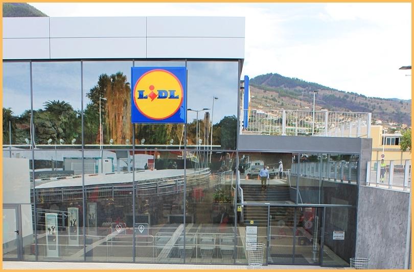 Lidl Los Llanos: Im Dezember 2017 auch sonntags geöffnet! Foto: La Palma 24