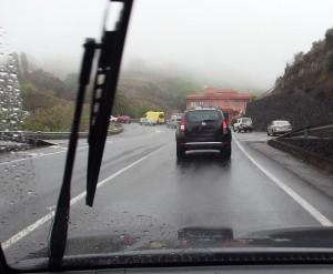 Starkregen avisiert: Vorsicht auf den Straßen! Foto: La Palma 24