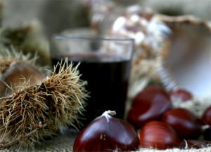 Gratis Wein und Kastanien: Am Sonntag in Los Llanos.