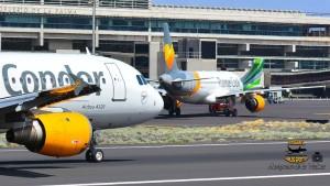 Airport Santa Cruz de La Palma (SPC): Im Winter 2017/18 steigt die Zahl der wöchentlich anfliegenden Maschinen vom spanischen Festland und aus dem Ausland auf 33. Foto: Carlos Díaz La Palma Spotting