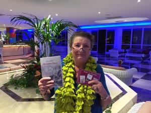 Barbara liest wieder im Sol: Romane mit engem Bezug zu La Palma.