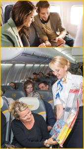 Sunstreamen und Airshoppen bei Condor: versüßt die Flugzeit. Pressefotos Condor