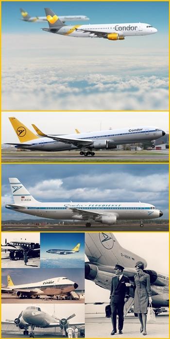 2016 feierte Condor das 60jährige Jubiläum: Heute ist die Airline Teil der Thomas Cook Group, aber der Name Condor blieb.