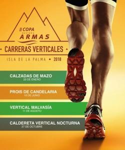 Steilbergrennen um den Armas Pokal 2018: Vier Verticals rings um La Palma.