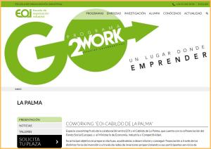 Projekt Coworking La Palma: Unternehmensgründer jetzt bewerben!