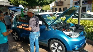 Elektrofahrzeug-Messe in Los Llanos: Stefan