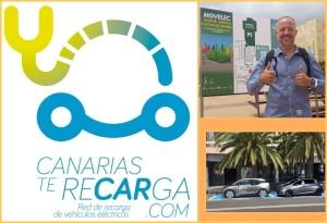 Elektro-Fahrzeuge: Präsentation und Vorträge von in Santa Cruz und Los Llanos.