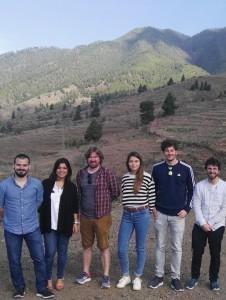 Das Team von der Filmschule München: drehen auf der Isla Bonita die Tragikomödie La Palma. Foto: Cabildo