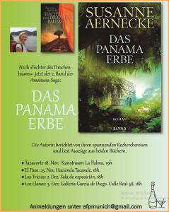 Lese-Termine von Susanne Aernecke.