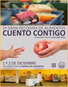Die Gran Recogida 2017 der spanischen Lebensmittelbanken will 22 Millionen Kilo Spenden sammeln: La Palma macht mit! Fotos: