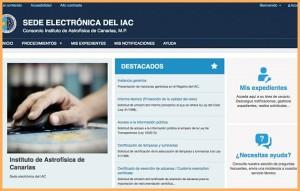 Neu, übersichtlicher und schneller: Die IAC-Verwaltungs-Website.