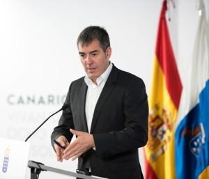 Fernando Clavijo: Der Kanarenpräsident kann mit einem beachtlichen Haushaltsvolulumen 2018 operieren. Foto: GobCan
