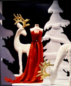 Beispiel für ein gelungenes Weihnachtsschaufenster: gestaltet von dem palmerischen Künstler José Anselmo García González in Madrid.