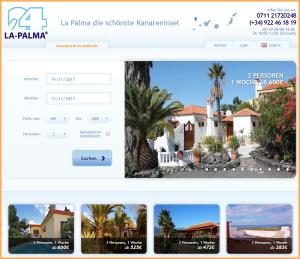 La Palma 24-Ferienunterkünfte: