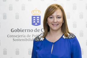Nieves Lady Barreto: Die Kanarenministerin, die einst Bürgermeisterin von Mazo war, hat gute Nachrichten für La Palma. Foto: GobCan