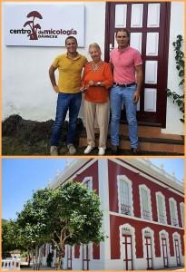 Das Pilz-Zentrum im Museum Casa Roja in Mazo: Rose Marie Dähncke (Foto oben) machte es möglich, indem sie ihre Arbeit aus mehr als 30 Jahren Forschen und Sammeln auf La Palma zur Verfügung stellte.