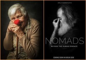 """Die Fotos von Emilio Barrionuevo aus der Serie """"Recuerdame"""" (links) und """"Nomads"""" gehen ans Herz: Jetzt erhielt der"""