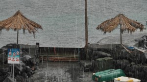 Trübe Aussichten für Samstag - und wohl auch für Sonntag: Auf ganz La Palma soll es ordentlich schütten. Foto: Hella