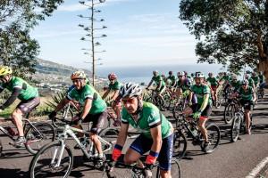 Safe Bike La Palma: Jedes Jahr fahren mehr Radler für mehr Rücksichtnahme auf der Straße mit. Foto: Cabildo