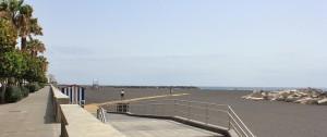 Der neue Stadtstrand von Santa Cruz de La Palma: Hier ist ein Wassersportzetnrum geplant. Foto: La Palma 24