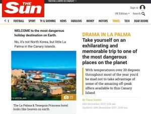 Screenshot der Sun: