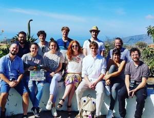 """Das Team ist schon seit einigen Tagen auf der Insel: Die Dreharbeiten der romantischen Komödie """"La Palma"""" dauern insgesamt vier Wochen. Foto: La Palma Film Commission"""