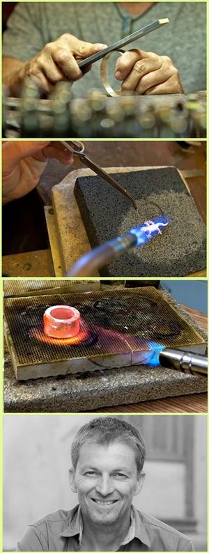 Volcán Verde: In der Schmuck-Manufaktur wird Edles aus der Erde zu Vulkanschmuck verarbeitet.