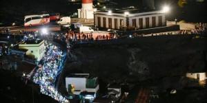 Kult: Start des Transvulcania-Ultramarathons am Süd-Leuchtturm von La Palma. Foto: Rennleitung