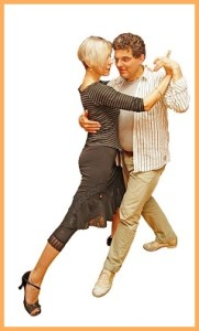 Tango-Workshops: Dagmar unterrichtet in Tazacorte in der Avenida 17.