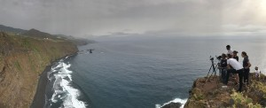 Filmkulisse La Palma: Immer mehr Kamerateams entdecken die Isla Bonita. Foto: Cabildo