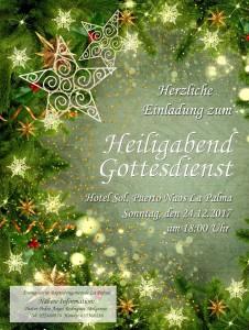 Weihnachtsgottesdienst: Am Sonntag im Sol.