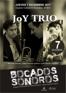Session im El Secadero: Joy Trio.