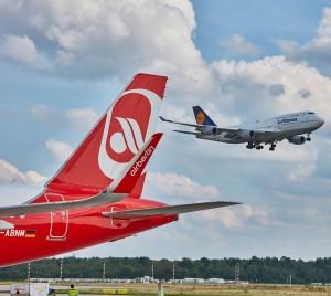 Air Berlin - NIKI - Lufthansa: Der Deal ist geplatzt, die EU-Kommission hatte wettbewerbsrechtliche Bedenken. Pressefoto Lufthansa