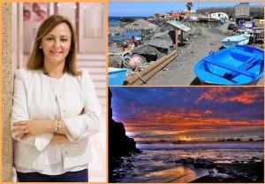 La Bombilla im Westen und die Playa Zamor