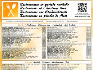 Ausgehen an den Feiertagen: CIT-Restaurantliste.