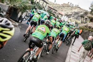 Safe Bike La Palma 2017: Am Sonntag wird´s streckenweise eng auf den Straßen. Foto: Rennleitung