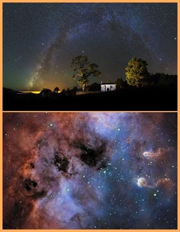 Die Siegeraufnahmen des Astrofoto-Wettbewerbs von La Palma 2017: