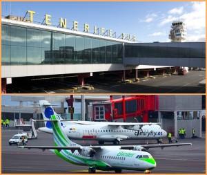 """Reina Sofia-Flughafen im Süden von Teneriffa: Hier landen nur wenige """"Inselhüpfer"""" - das Drehkreuz für die Kanarenflieger ist Teneriffa-Nord. Fotos: AENA & Carlos Díaz"""