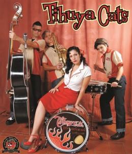 Tihuya Cats: Die Rock´n´Roller sorgen für Stimmung in El Paso.