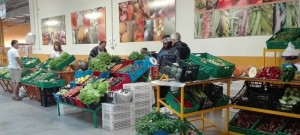 Farmer's market Brena Alta: Say no to plastic bags as first mercadillo on La Palma. Photo: Chapter