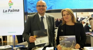 Alicia Vanoostende: The island Tourism Board advertises on the FITUR in Madrid for La Palma. Photo: Chapter