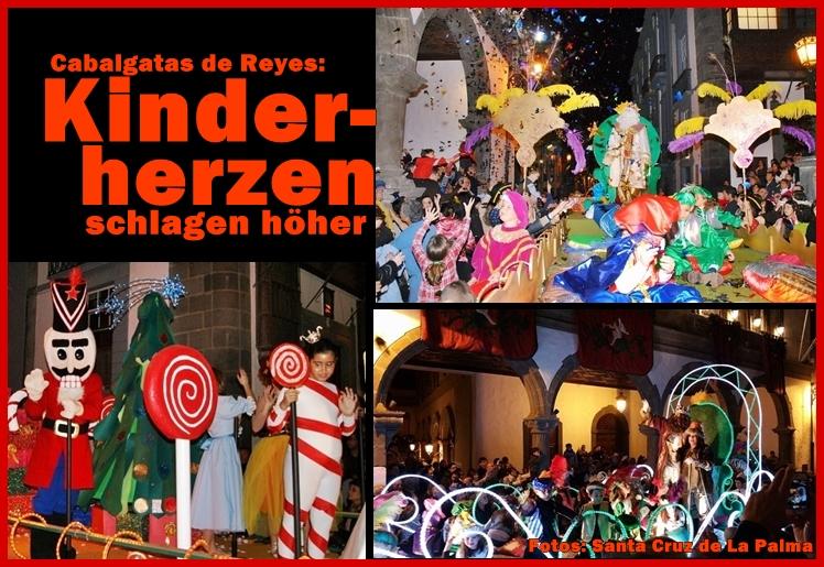 Cabalgata de Reyes: Diese Fotos aus Santa Cruz geben Inselgästen einen Eindruck, was sie bei den Dreikönigsumzügen erwartet. Foto: Stadt