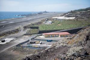 Der Punto Limpio in Brena Baja beim Airport: Hier und an zwei weiteren in Los Llanos und ... können Sperrmüll, Farben, Geräte und anderes gratis entsorgt werden. Foto: Cabildo
