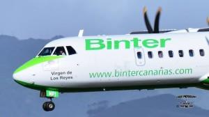 Binter Canarias: La Palma-Flüge werden ständig erweitert. Foto: Carlos Díaz
